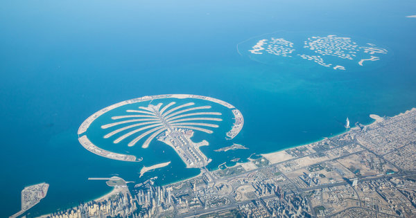 Palm Islands Lufaufnahme