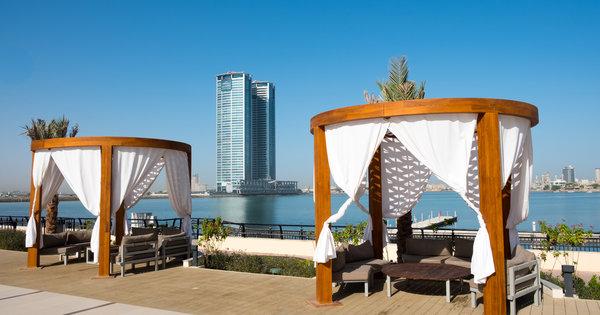 Hafenblick in Dubai