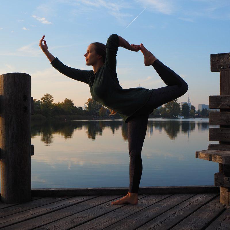 lord of the dance pose natarajasana Hatha Yoga Marijke Tej Viriam Wien