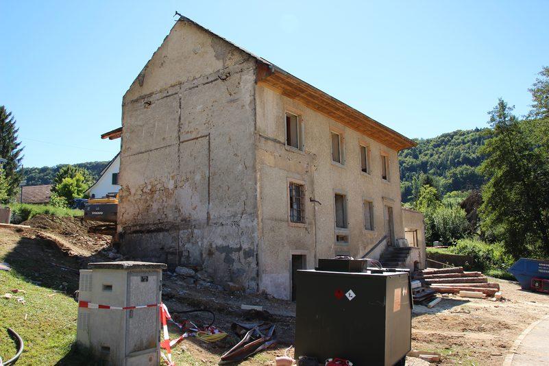 Rückbau der Anbauten
