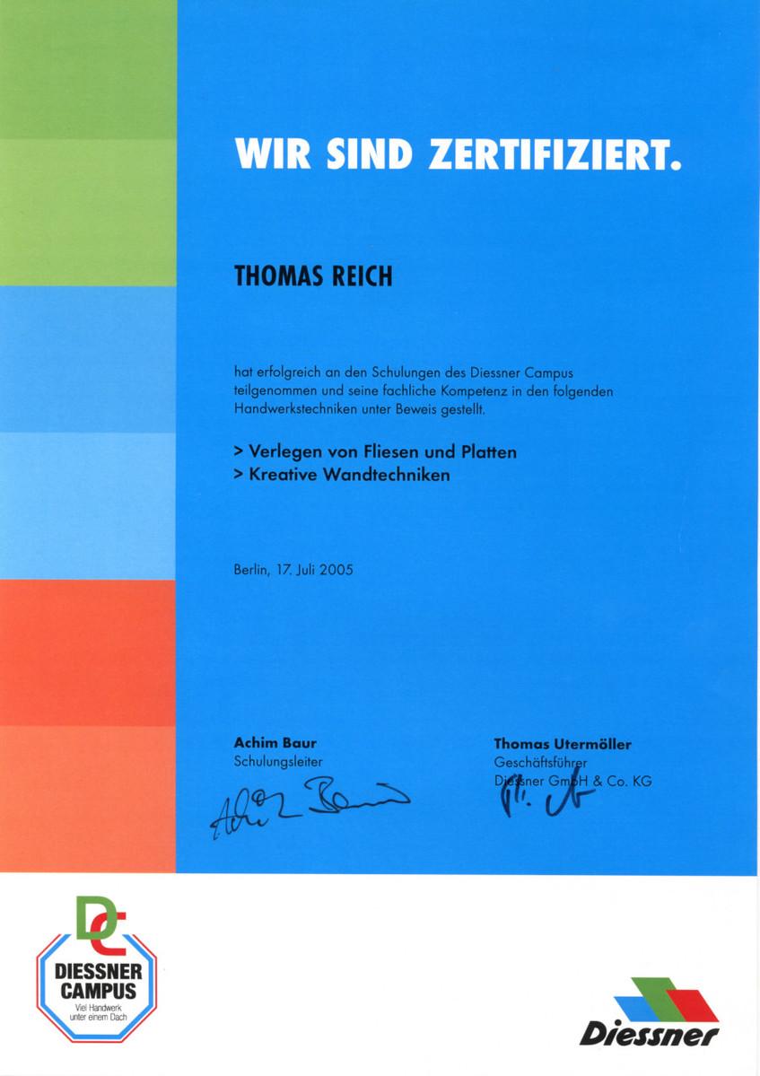 Malerbetrieb Thomas Reich - Wandgestaltung, Tapezierarbeiten u.v.m. ...