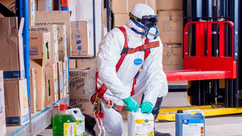 Chemische Schädlingsbekämpfung