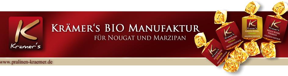 Krämer's Bio Manufaktur - für Schokolade, Nougat und Marzipan