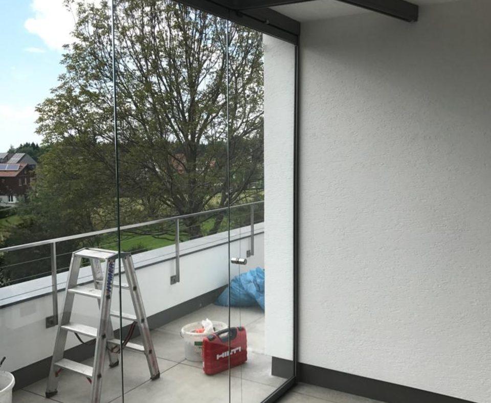 für Terrassen- und Balkonverglasungen